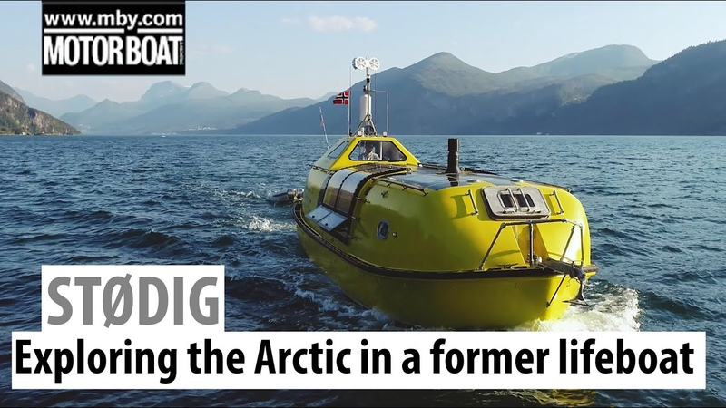 This converted lifeboat is exploring the Arctic Motor Boat Yachting