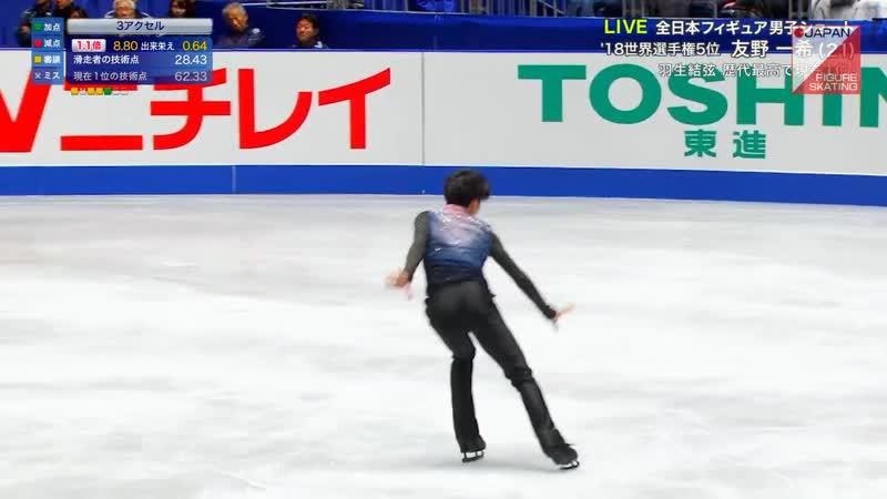 Kazuki Tomono 2019 Japanese Nationals SP