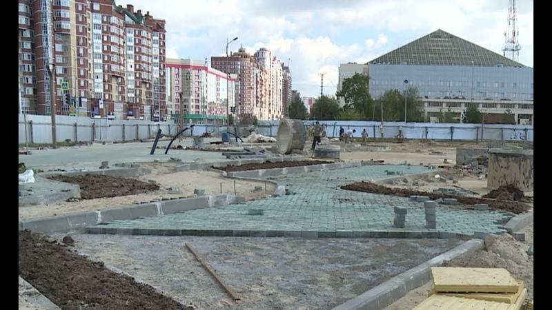Сроки сдачи центральной площади в Сургуте вновь сдвинулись подвёл поставщик