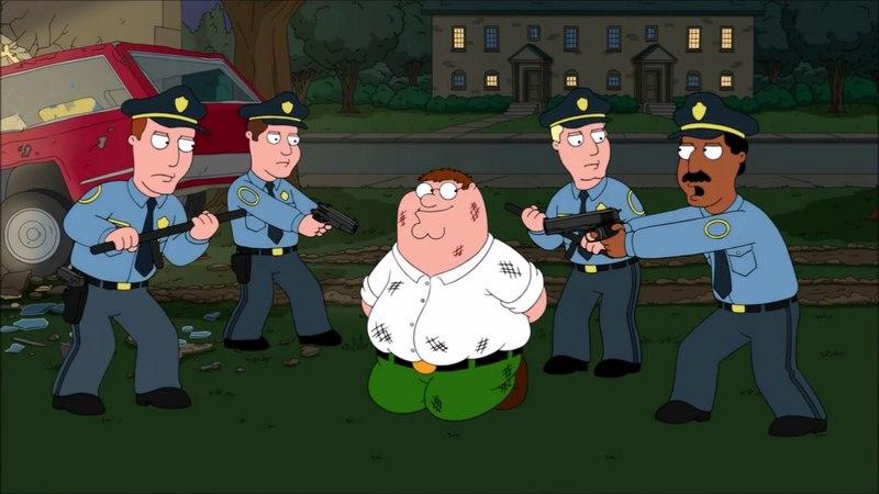 Family Guy Зачитайте ему права S15E07