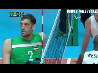 Morteza mehrzad 246 cm the tallest volleyball player in the world (hd)