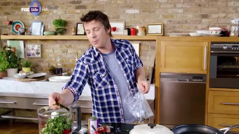 Обеды за 30 минут с Джейми Оливером 1 сезон 2 серия