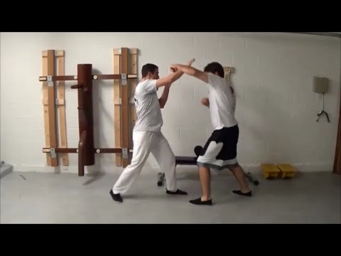 Wing Chun - Sparring drills