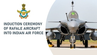 Rafale Induction Ceremony at Indian Air Force Station, Ambala