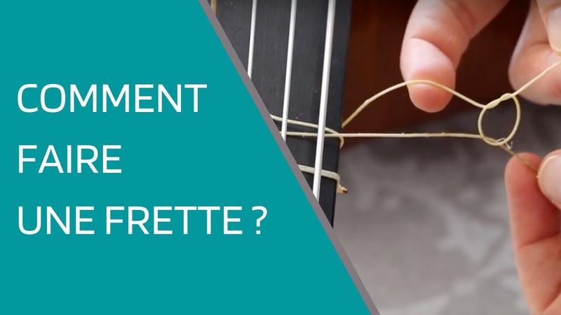 Comment faire une frette de viole de gambe How to change a fret on your viola da gamba