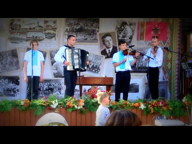 Тарас Онисимюк (Музична школа) - Ой чий то кінь стоїть ( м.Вашківці )