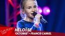 Héloïse 'Octobre' Blind Auditions The Voice Kids Belgique