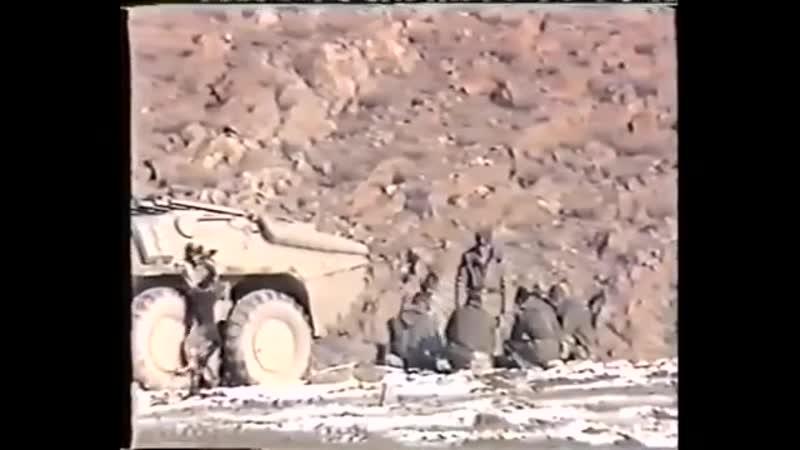Документальные кадры времён Афганской войны...