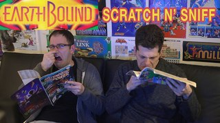 Earthbound Scratch N' Sniff Nintendo Power Magazines (James & Mike)