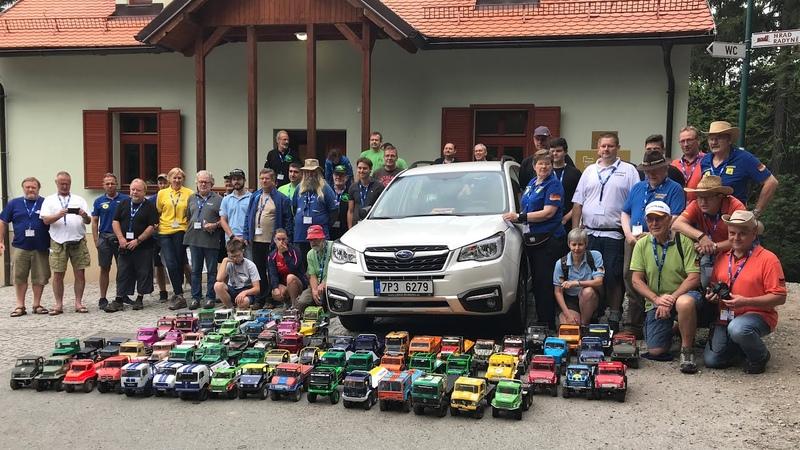 Scale Modell Truck Trial Europameisterschaft 2018 in Tschechien