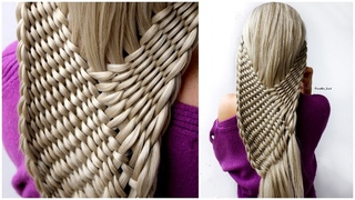 😱 New Twisted Hairstyle for wedding and party | Rope Waterfall Braids | trending hairstyle long hair