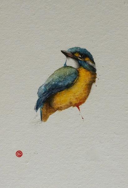 Карл Мартенс (arl Martens , виртуозный акварелист из Америки. Основная тематика его произведений это птицы. Особая любовь к пернатым появилась у него ещё в детстве и стала главным интересом и