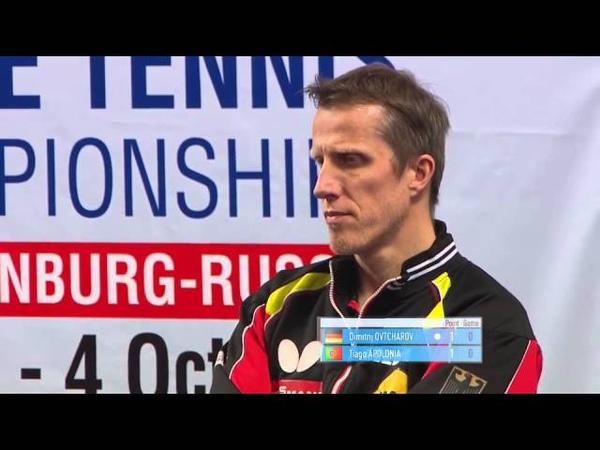 2015 ETTC MS SF Dimitrij OVTCHAROV GER Tiago APOLONIA POR Full Match