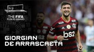 Giorgian De Arrascaeta Goal | FIFA Puskas Award 2020 Finalist