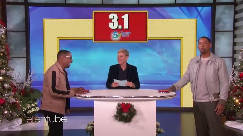 Martin and Will/TheEllenShow/Minimal English