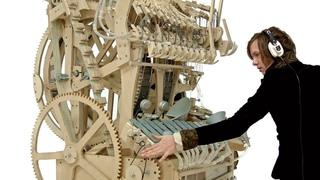 Wintergatan - Marble Machine music instrument / Гігантська музична шкатулка, ща грає на 2000 кульках