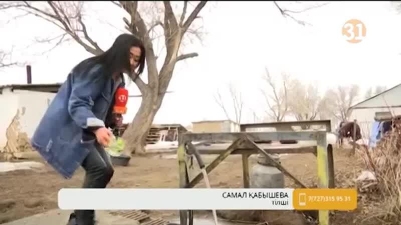 Алматы облысына қарасты ауыл тұрғындары ауыз судың тартылуына қарсылық танытуда