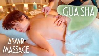 ASMR | MASSAGE | asmr Gua Sha massage (Chinese spa, full body)